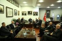 ANKARA SANAYI ODASı - Ankara Sanayi Odası'ndan ATO Yönetimi'ne 'Hayırlı Olsun' Ziyareti
