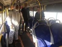 YOLCU TAŞIMACILIĞI - Aydın Şehiriçi Minibüslerinde Grip Önlemi