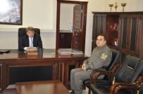 Başçavuş Yılmazyıldız'dan Kaymakam Karahan'a Ziyaret