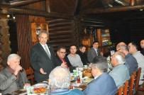 AKŞEHİR BELEDİYESİ - Başkan Akkaya, Gazetecilerle Yemekte Buluştu