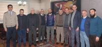 AHMET GENÇ - Başkan Atmaca'dan AGC'ye Ziyaret