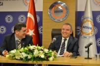 AİLE DANIŞMA MERKEZİ - Başkan Böcek, AESOB'da Oda Başkanlarına Projelerini Anlattı