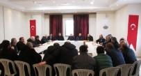 Başkan İbrahim Ercan Taşıyıcı Esnafı İle Toplantı Yaptı