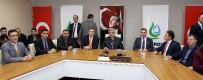 İBRAHIM KARAOSMANOĞLU - Başkan Karaosmanoğlu, Öğretim Görevlileriyle Buluştu