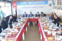 GIDA YARDIMI - Belediye Başkan Vekili Taşkın Gazetecilerle Bir Araya Geldi