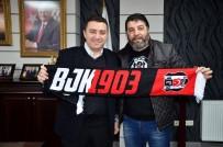 Beşiktaşlılar Derneği'nden Başkan Bakıcı'ya Ziyaret