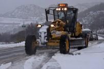 Büyükşehir'in Kar İle Mücadelesi