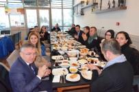 FATIH KıZıLTOPRAK - Çorlu'daki Gazeteciler Kahvaltıda Buluştu