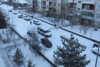 HAVA SICAKLIKLARI - Doğu'da Kar Yağışı Ve Soğuk Hava