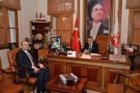 Eldemir'den Başkan Yağcı'ya Ziyaret