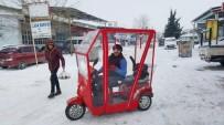 Engelli Vatandaşlar Soğuk Geçirmez Branda İle Korunacak
