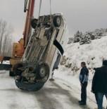 PARA NAKİL ARACI - Hisarcık'ta Trafik Kazası Açıklaması 1 Yaralı