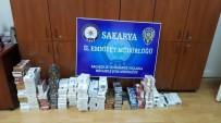 İki Ayrı İş Yerinde Bin 600 Paket Kaçak Sigara Ele Geçirildi