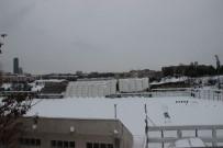 MASLAK - İTÜ'nün Maslak'taki Stadyumun Çatısı Yoğun Kar Nedeniyle Çöktü
