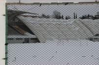 MASLAK - İTÜ Stadyumu'nun Çatısı Çöktü