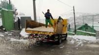 İzmit'te Kar Yağışına Yönelik Çalışmalar Sürüyor