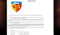 KAYSERISPOR - Kayserispor'da Lisans Sıkıntısı