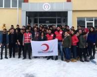 Kızılay'a Şaphane MYO Öğrencilerinden Destek