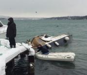 AŞIRI YAĞIŞ - Yoğun Kar Yağışı Tekne Batırdı