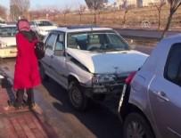 Şanlıurfa'da zincirleme trafik kazası: 8 yaralı
