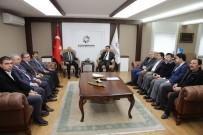 AMBALAJ ATIKLARI - Sivas Belediyeleri Kocasinan Belediyesini Ziyaret Etti