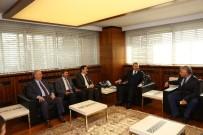 ÇEVRE VE ŞEHİRCİLİK BAKANI - Sivas'ın İlçe Ve Belde Belediye Başkanları Başkan Çelik'i Ziyaret Etti
