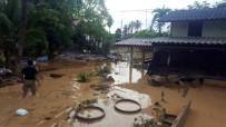 ŞİDDETLİ YAĞIŞ - Tayland Selin İzlerini Silmeye Çalışıyor
