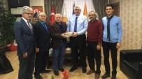TYB Erzurum Şubesi'nden Başkan Öz'e 'Kitap'Lı Tebrik Ziyareti