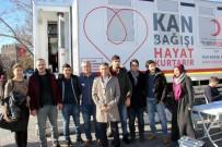 112 Personelinden Kan Bağışı