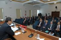 2017 Yılı Ocak Ayı İl Koordinasyon Toplantısı, Vali Çelik Başkanlığında Yapıldı