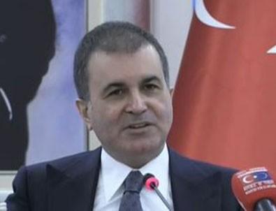 AB Bakanı Ömer Çelik'ten o görüntüye sert tepki