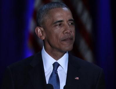 Obama'nın Chicago'daki veda konuşması
