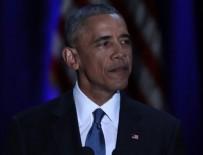 ABD BAŞKANI - Obama'nın Chicago'daki veda konuşması