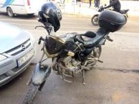 MOTOSİKLET SÜRÜCÜSÜ - Adıyaman'da Motosiklet Kazası Açıklaması 1 Yaralı