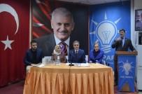 AK Parti'de Daraltılmış İl Danışma Meclis Toplantısı Yapıldı
