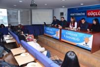 AK Parti Tepebaşı Tanıtım Ve Medya Mahalle Birim Başkanları Toplantısı Yapıldı