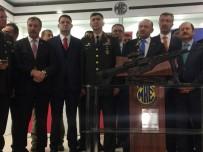İLKER HAKTANKAÇMAZ - Bakan Işık, MPT-76 Piyade Tüfeklerini TSK'na Tesli Etti