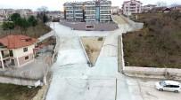 Başiskele Belediyesi, Buket Sokağı Beton İle Kapladı