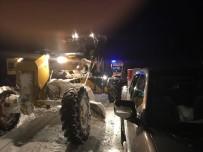 Büyükşehir Kar Mücadeleyi Aralıksız Sürdürüyor