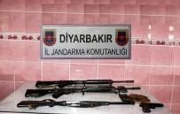 Çınar'da Silah Ve Mühimmat Ele Geçirildi