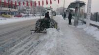 Edirne'de Karla Mücadele Devam Ediyor