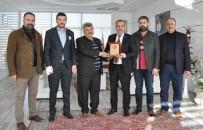 ERCAN YILMAZ - Elazığ TSO Başkanı Alan'a,15 Temmuz Plaketi
