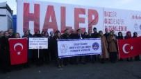 Erzincan KYK'dan Halep'e 4 TIR Dolusu Yardım Malzemesi