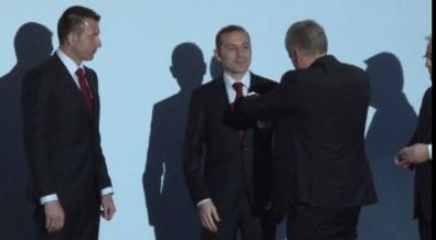 Hakemlere FIFA kokartı takıldı