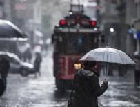KAR ÖRTÜSÜ - İstanbul için yağış uyarısı