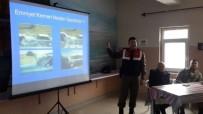 TRAFİK KURALLARI - Jandarma Trafikten Lise Öğrencilerine Trafik Eğitimi