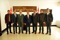 SÜLEYMAN TAPSıZ - Karaman'da Hayırseverlerden Eğitime Destek