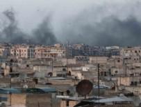 HAVA SALDIRISI - Suriye'de haritadan silinen kasaba