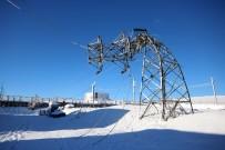 YÜKSEK GERİLİM - Konya'da Bir İlçeye 22 Saattir Elektrik Verilemiyor