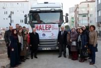 KYK Öğrencilerinden Halep'e 1 Tır Dolusu Yardım